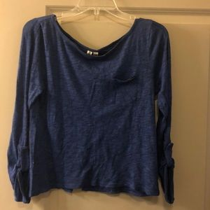 Hang-ten long sleeve top